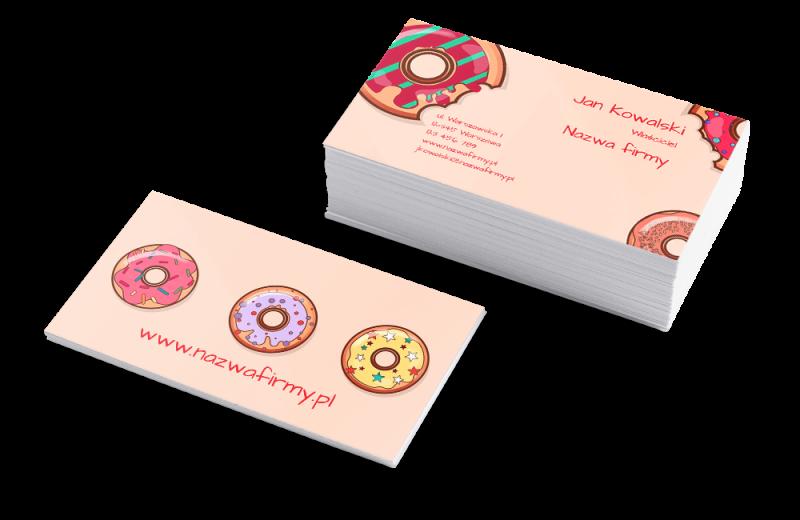 Szablon Donut