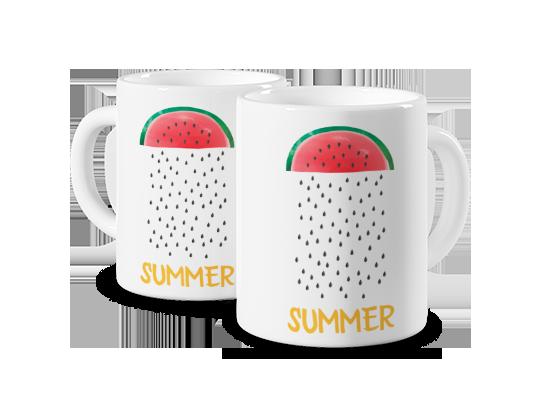 Szablon Watermelon Rain