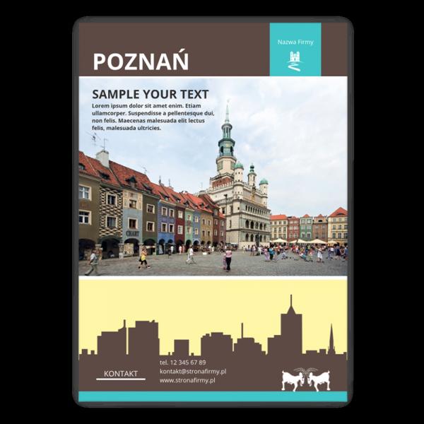 Szablon Poznań