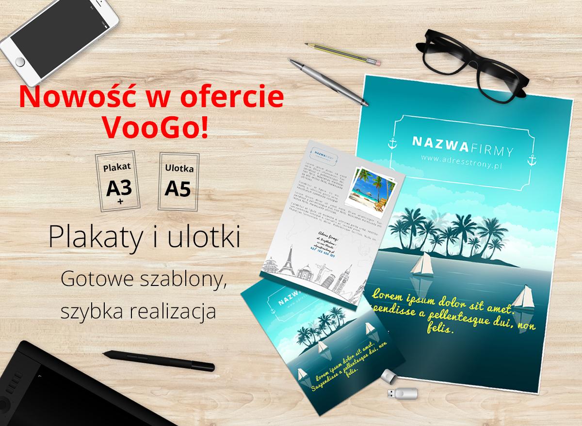 Ulotki I Plakaty Już Na Voogo Voogopl