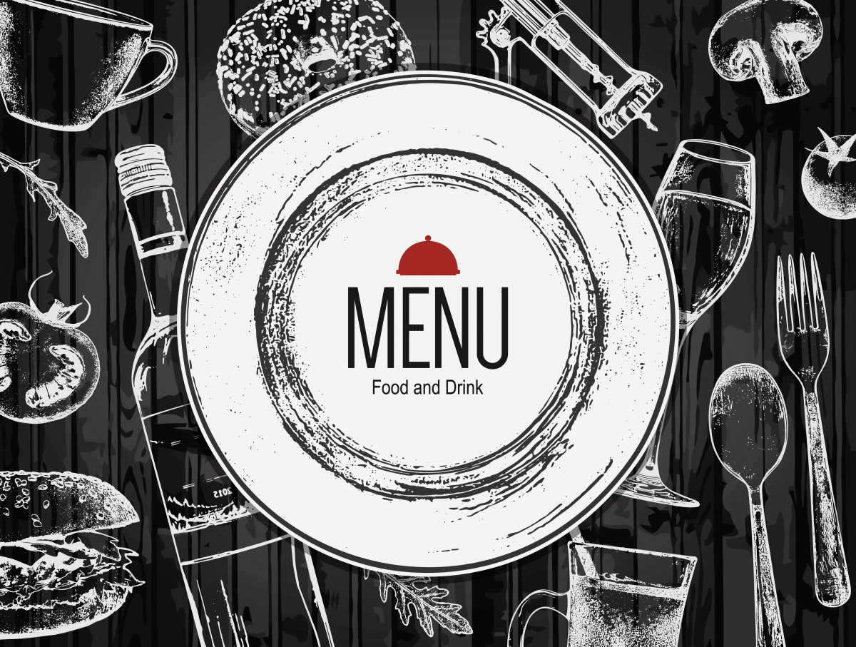 Menu dla restauracji