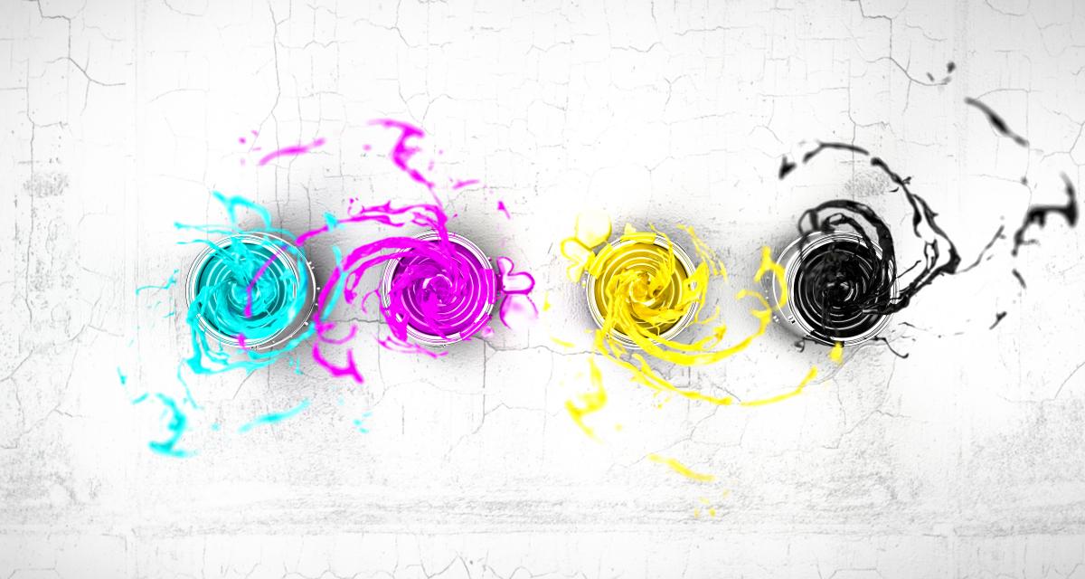 Kolorowe wizytówki